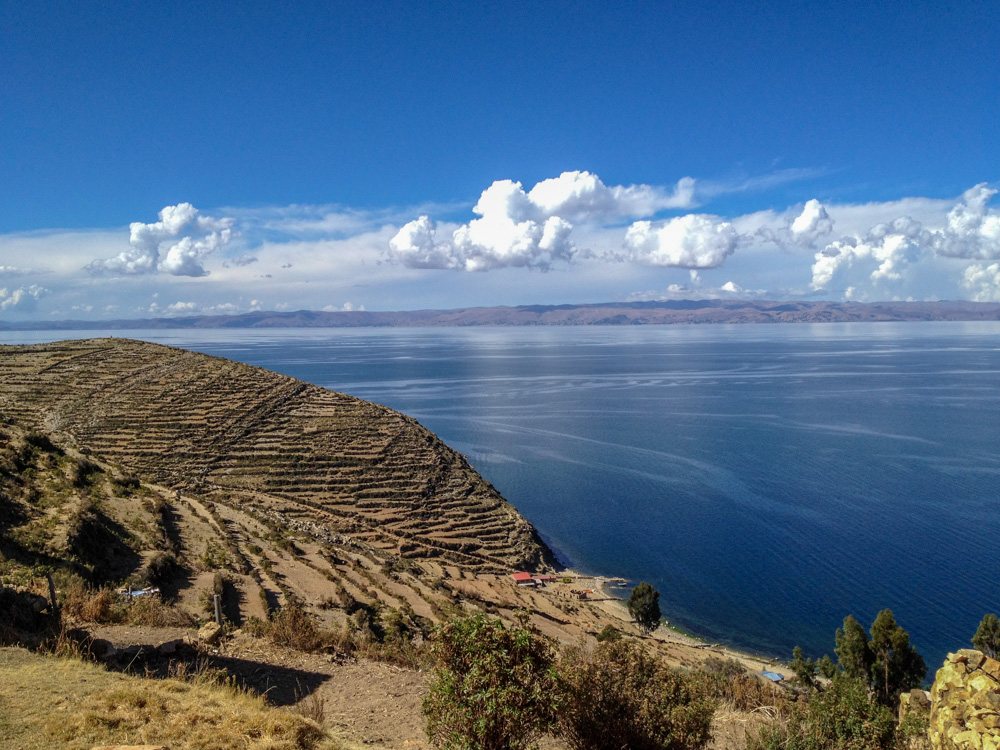 Lake Titicaca - During our first year of traveling Latin America