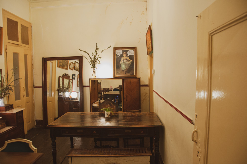 One of the rooms at Casa Independente